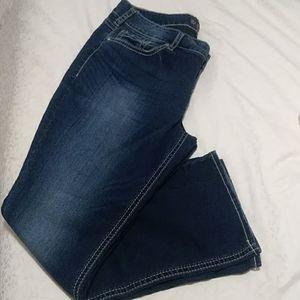 Silver brand Suki mid rise slim boot cut jeans
